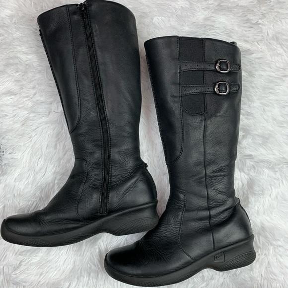 Bern Baby Bern Wide Calf Black Boots